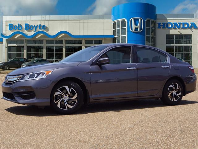 Pre Owned 2016 Honda Accord Lx 4dr Sedan Cvt In Brandon 19259a Bob Boyte