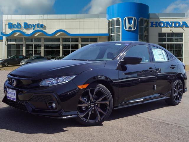 Honda Civic New >> New 2019 Honda Civic Sport Hatchback